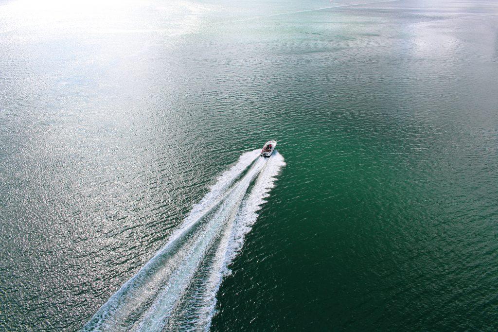 Boat cruise at Perivoli Lagoon House